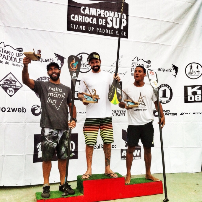 Gabriel vence etapa Carioca de SUP Race!