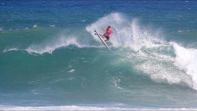 Vídeo de Douglas Silva Gabriel Farias e Wallace Junior durante o Pro Junior na Bahia