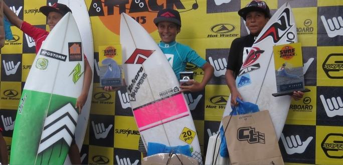 Diego Aguiar fatura o Surf Attack