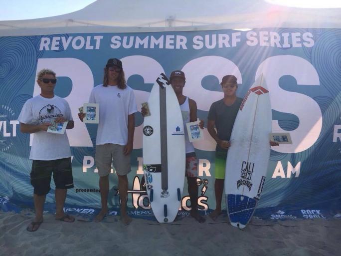 Luel Felipe vence no Revolt Summer Surf Series na Califórnia