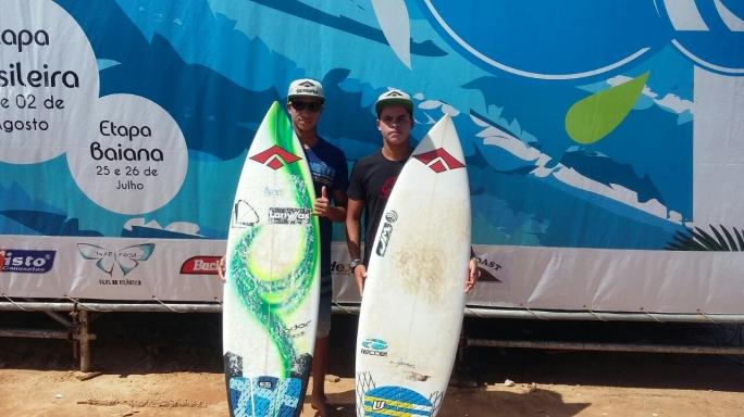 Douglas Silva faz podium na Bahia