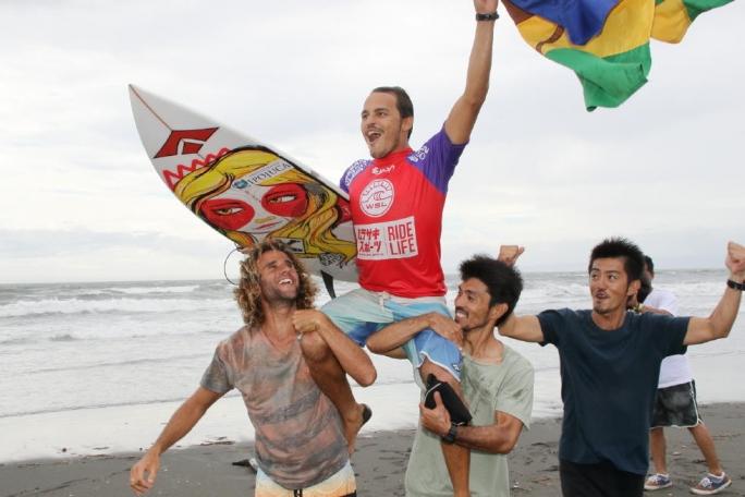 Vídeo da vitória de Luel Felipe no Japão