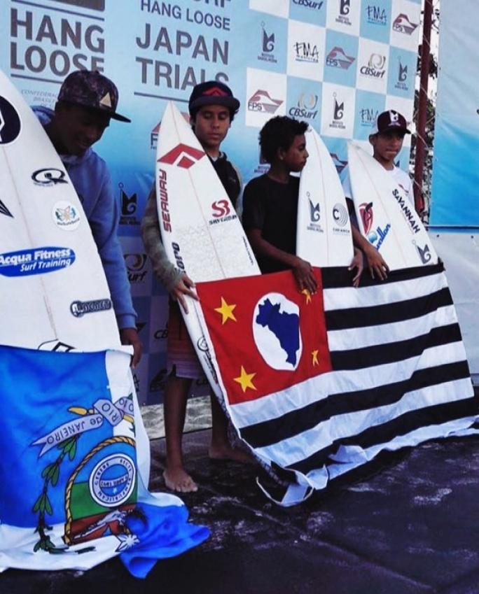 Diego Aguiar é campeão Sub-14 no Brasileiro Amador