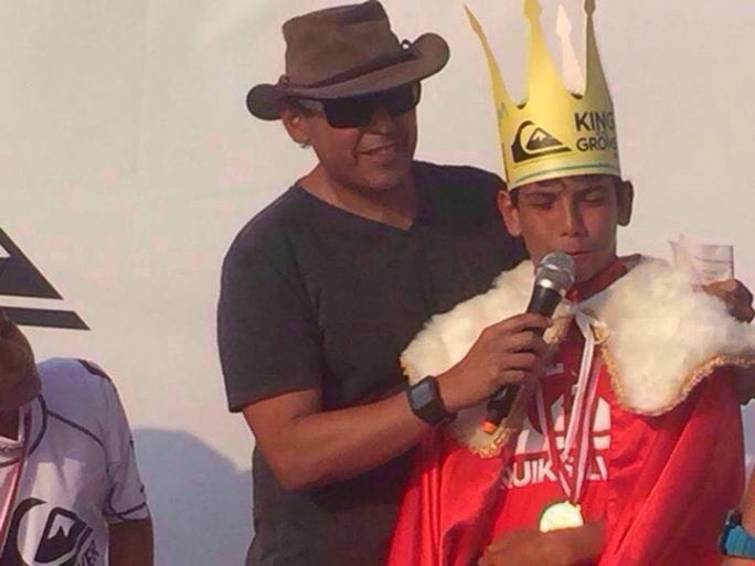 Valentin Neves vence o King Of the Groms no Peru