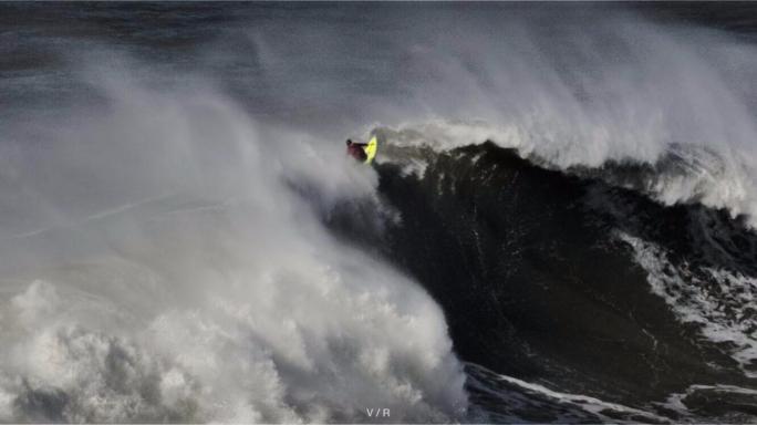 Danilo Couto compartilha experiências de Big Rider em Nazaré