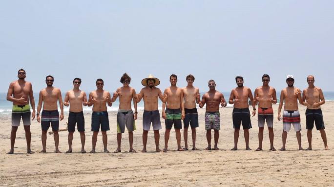 Gabriel Pastori finaliza mais um Surf Coach