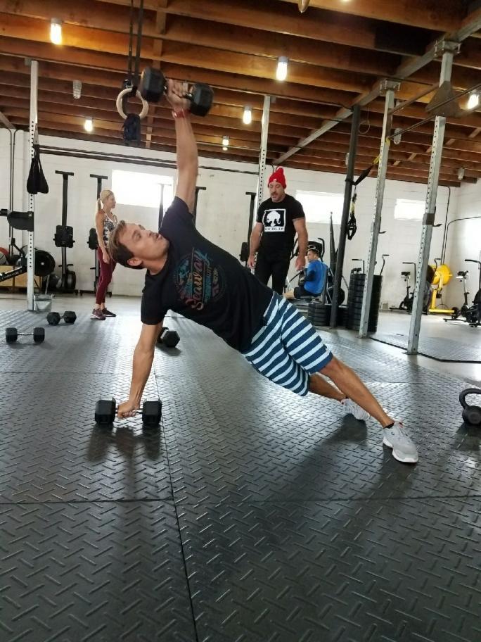 Luel Felipe na preparação para o US Open