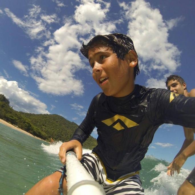 Diego Aguiar é campeão da segunda etapa do Ubatuba Pro Surf