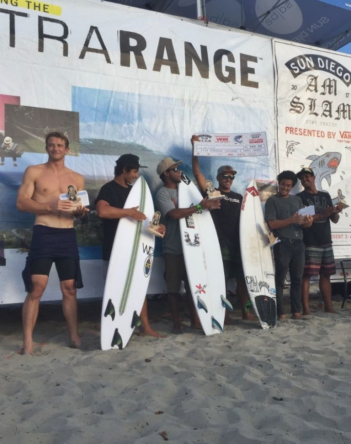 Luel Felipe vence de novo no AM SLAM Surf Series em Ocean Beach