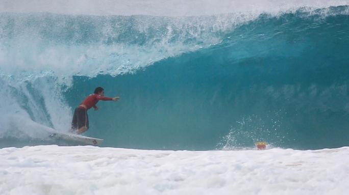 Acidentes no surf.