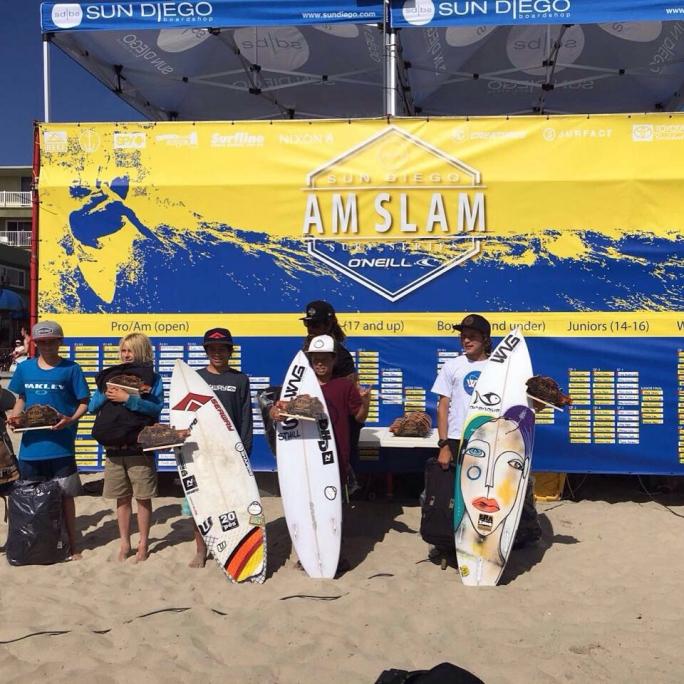 Diego Aguiar vence o Sun Diego/O´Neill AM na Califórnia