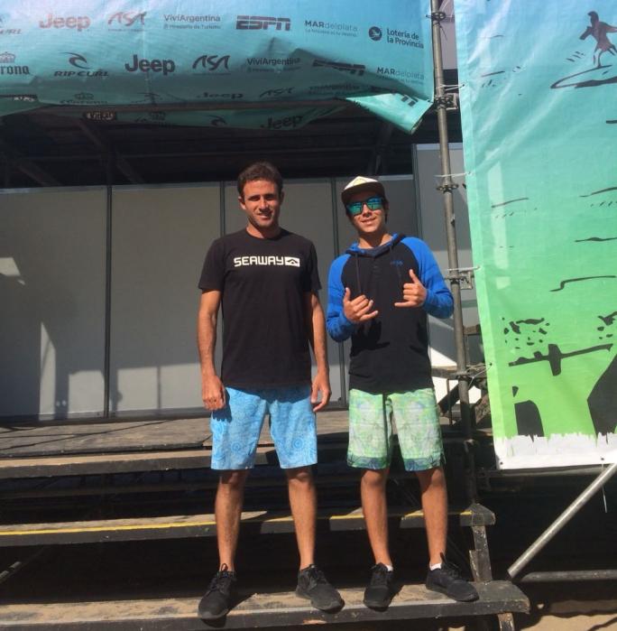 Diego e Alan avançam ao Round 3 na Argentina