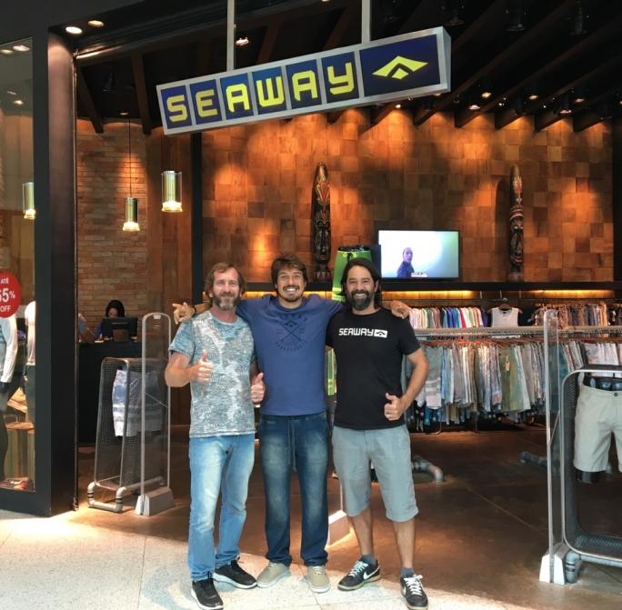 Gabriel Pastori é o novo Free Surfer da Seaway