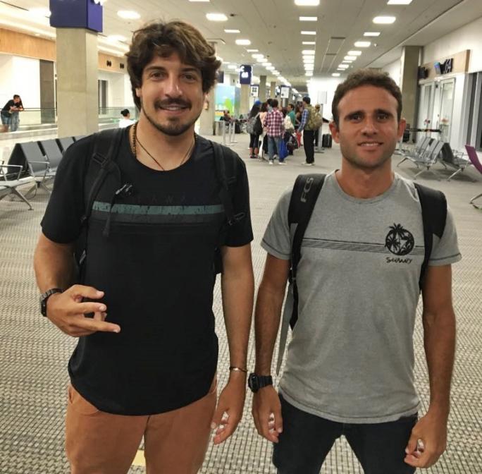 Gabriel Pastori e Alan Donato embarcam rumo ao Peru