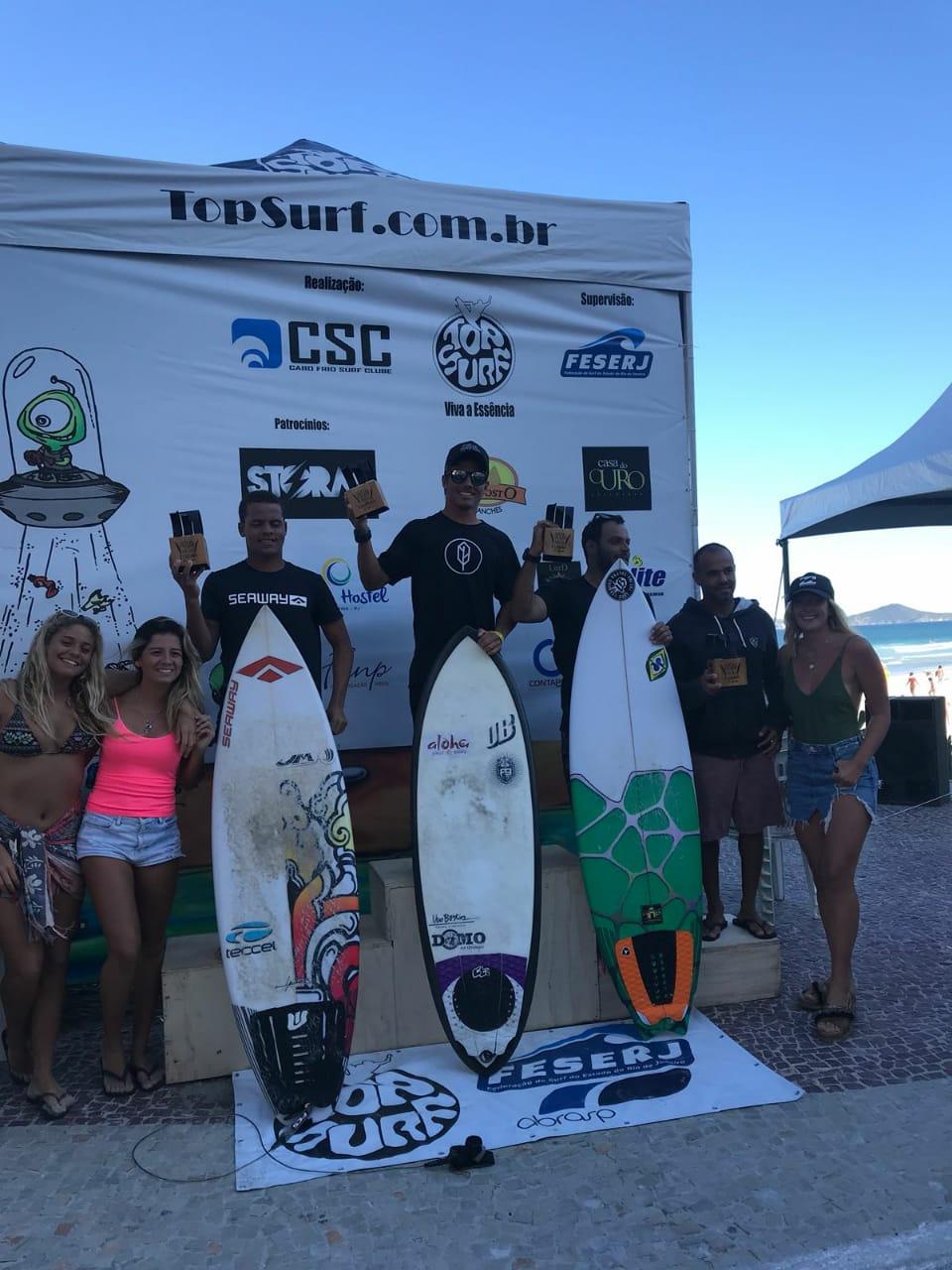 Douglas Silva Vice-Campeão na terceira etapa do Circuito Carioca de Surf Profissional